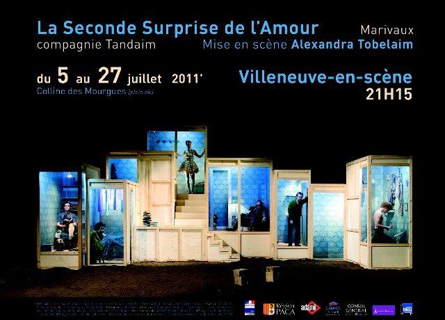Gagnez 2×6 places pour La Seconde Surprise de l'amour les 5 et 6 juillet sur la Colline des Mourgues à Villeneuve lez Avignon