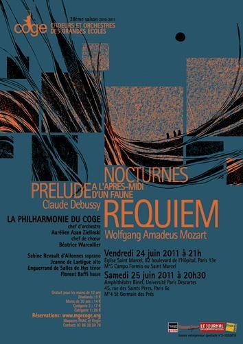 La philarmonie des Choeurs et Orchestres des Grandes Ecoles les 24 et 25 juin 2011