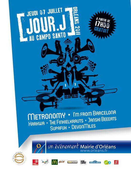 Festival Jour J le 7 juillet à Orléans