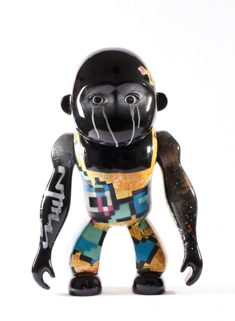 Kipling propose à 10 artistes français de customiser sa mascotte au profit du Japon