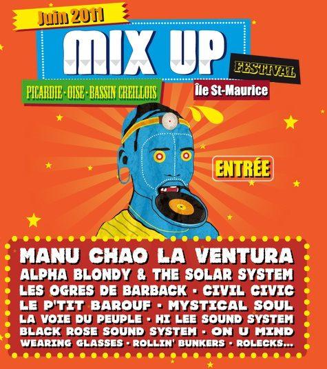 Gagnez 4×2 places pour le Mix Up Festival le 26 juin