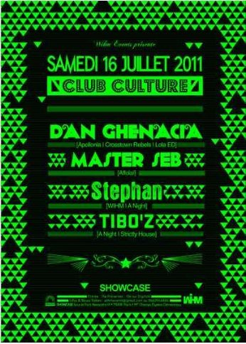 Gagnez 10×2 invitations pour la soirée Club Culture au Showcase le 16 juillet