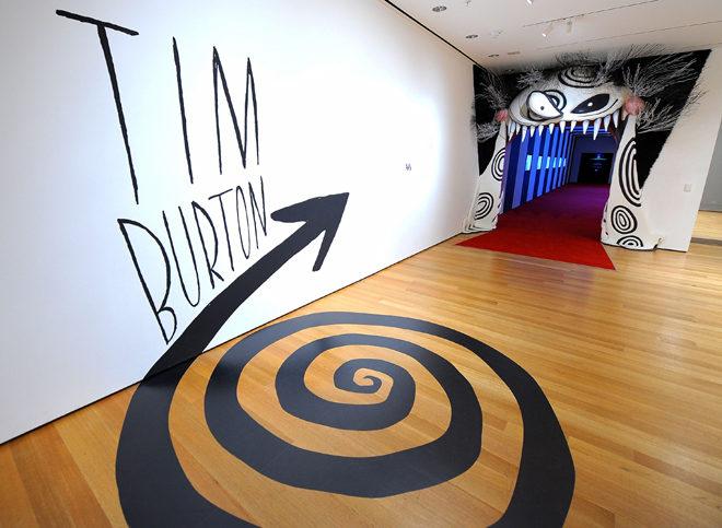 Tim Burton à la Cinémathèque du 7 mars au 5 août 2012