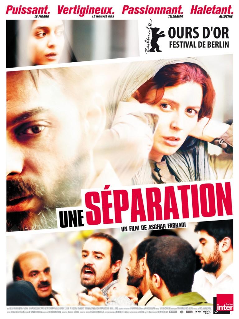Une séparation, chef d'oeuvre iranien de Asghar Farhadi