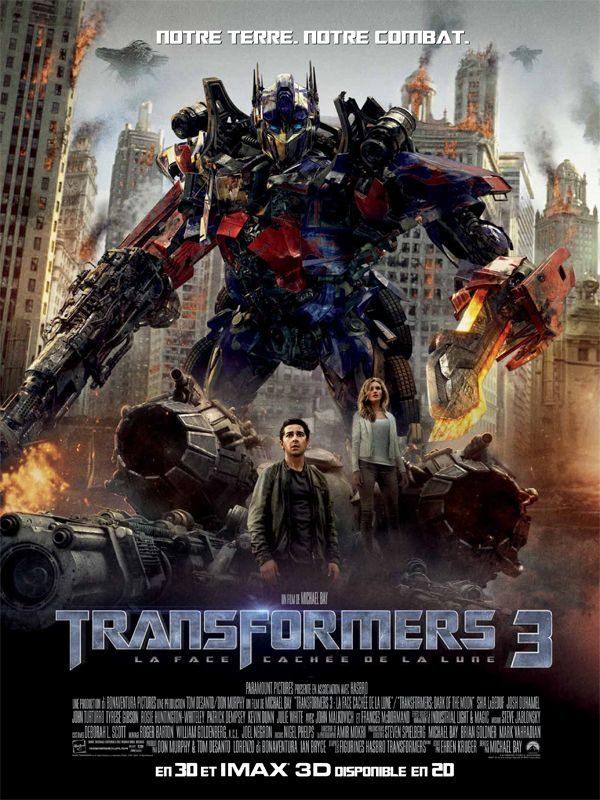 Transformers 3: les gros sabots de Michael Bay dans un ultime épisode laborieux