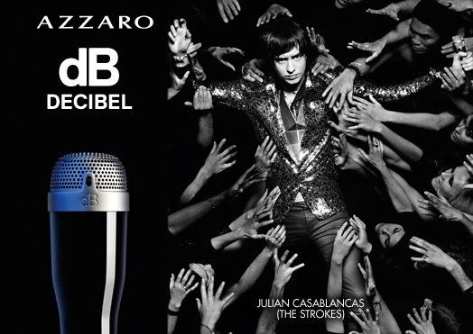 Decibel : le nouveau parfum d'Azzaro sera rock'n roll, avec pour égérie Julian Casablancas