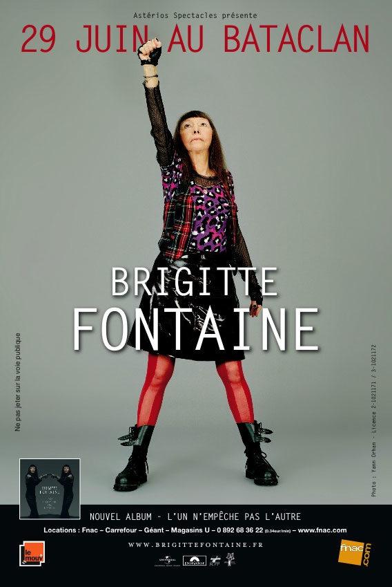 Brigitte ouvre le chemin de la liberté, Fontaine nous bûmes tes mots au Bataclan.