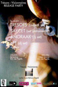 Kiss the Moon invite TRÉSORS Release Party le 15 juin chez Le Lautrec et chez Moune
