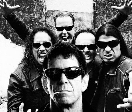 Metallica et Lou Reed enregistrent un album ensemble