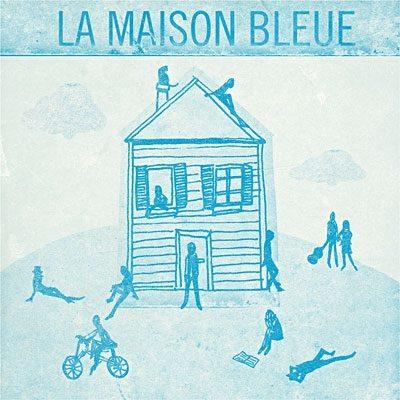 La Maison bleue de Maxime Le Forestier, inaugurée officiellement par le chanteur à San Francisco
