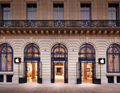 A l'occasion de la Fête de la Musique, l'Apple Store Opéra se transforme en dancefloor!