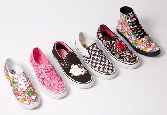 Hello Kitty sur tes Vans, c'est pour bientôt !