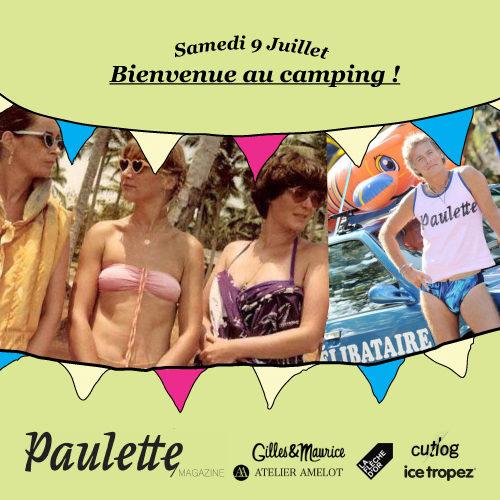 Soirée Paulette Magazine à la Flèche d'Or ce samedi!