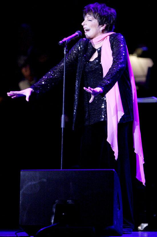 Liza Minnelli habite l'Olympia !