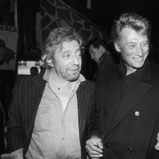 Gainsbourg et Hallyday