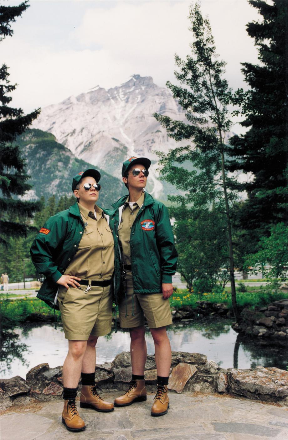 Shawna Dempsey and Lorri Millan, Forrest Guards, 1997