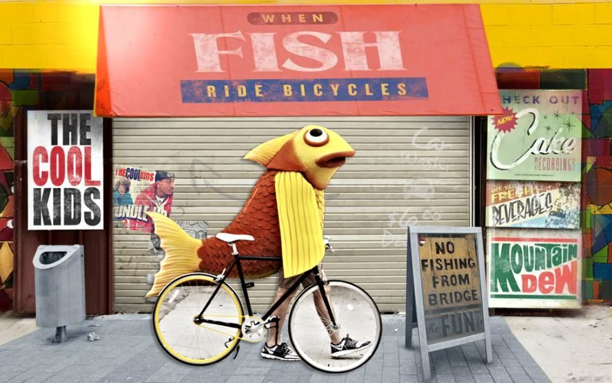 « When Fish Ride Bicyles », nouvel album du duo The Cool Kids