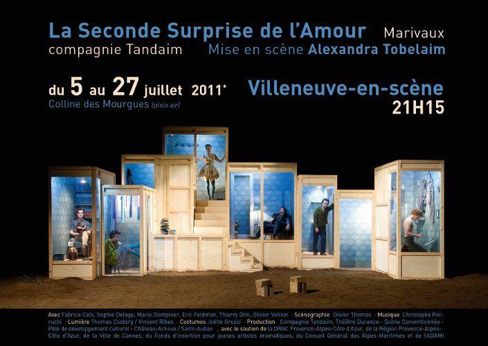 «La Seconde surprise de l'amour» versus «Douleur exquise», Sophie Calle rencontre Marivaux à Villeneuve en Scène