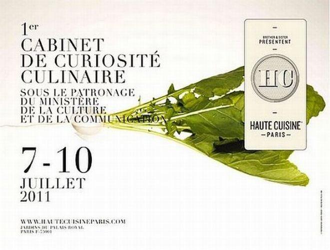 Live report : Haute cuisine Paris du 7 au 10 juillet