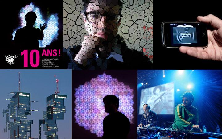 Issy-les-Moulineaux en fête pour les 10 ans du Cube les 1ier et 2 octobre 2011