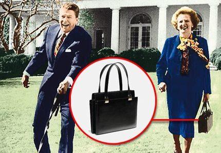 Le sac à main de Margaret Thatcher vendu aux enchères pour 28 000 €