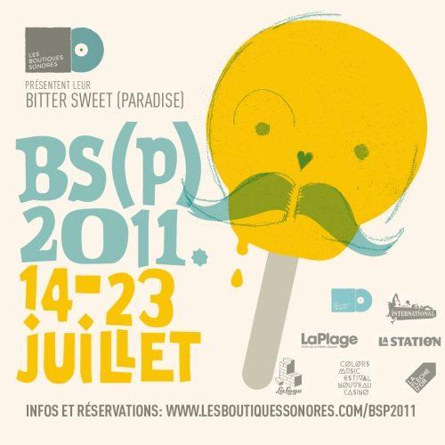 Les Boutiques Sonores dévoilent leur programmation pour le BitterSweet (paradise) édition 2011
