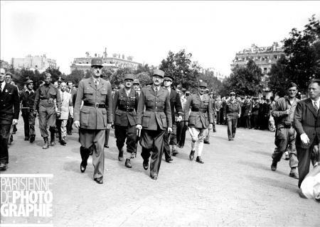 La Mairie de Paris projette les archives de la libération