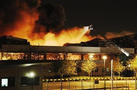 Les labels de musique incendiés à Londres