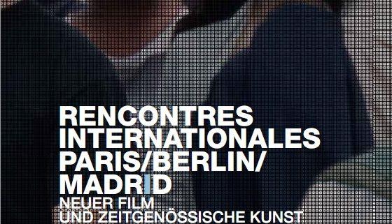 L'appel à proposition pour les prochaines Rencontres Internationales Paris/Berlin/Madrid est ouvert jusqu'au 31 août 2011