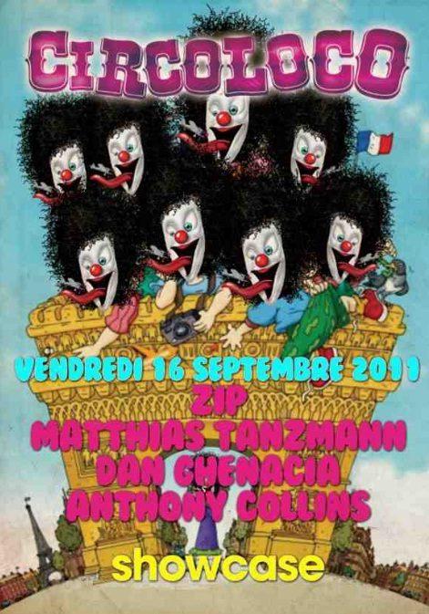 Gagnez 5 entrées pour CIRCOLOCO au Showcase le 16 septembre
