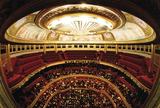 Le Théâtre des Champs Elysées est fermé pour travaux !