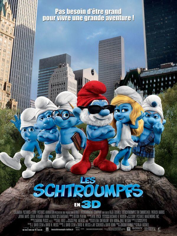 Les Schtroumpfs : comédie familiale pleine d'humour bleu