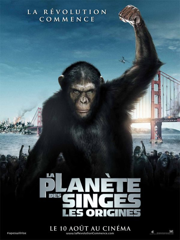 La planète des singes, les origines: un blockbuster intimiste surprenant