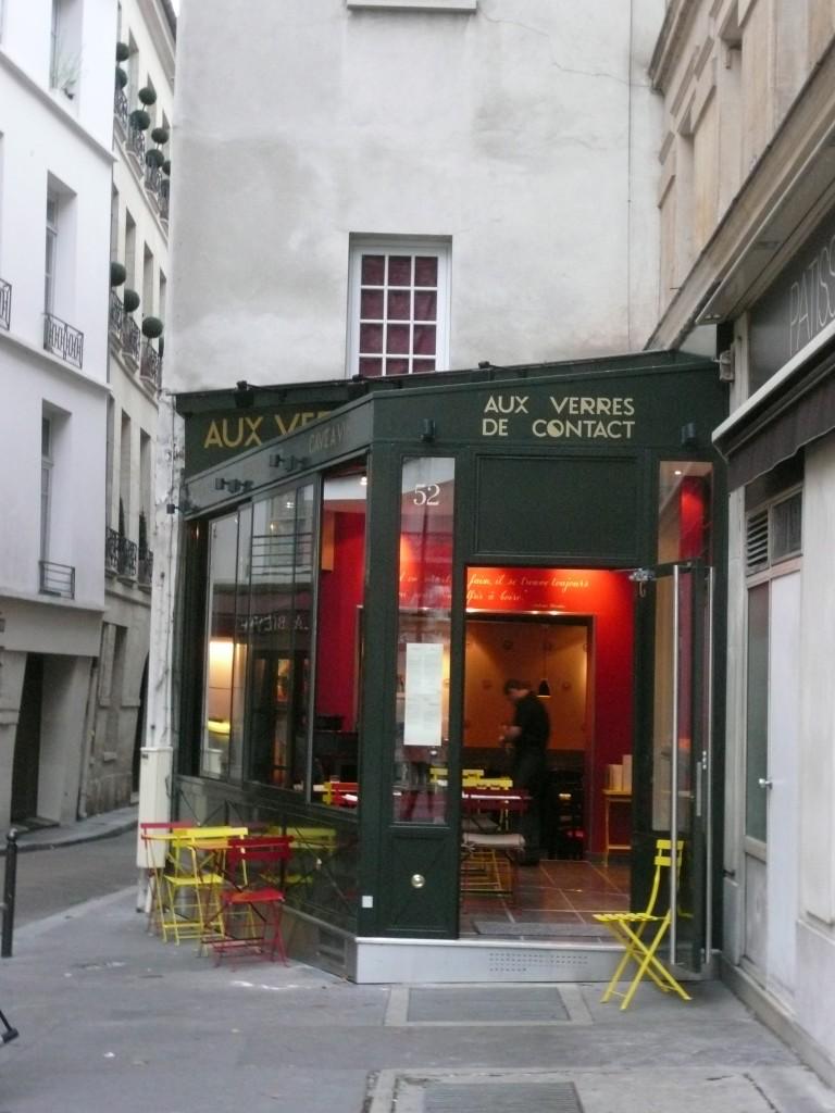 Aux Verres de contact, bistronomie de qualité fidèle à l'esprit d'Antoine Blondin