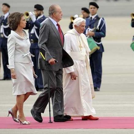 Benoit XVI en visite à Madrid pour les JMJ