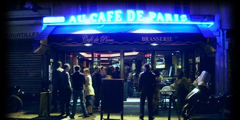 Cafe De Paris Theatre Rue Oberkampf