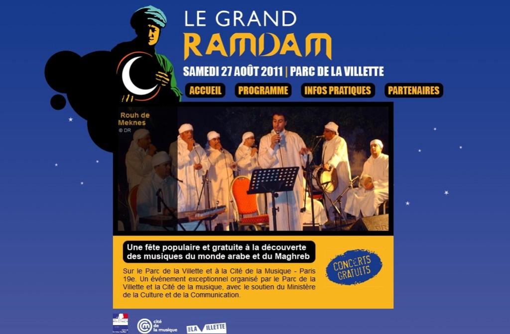 Le Grand Ramdam, la fête populaire du 27 août vous invite à voyager au Maghreb en direct de la Villette