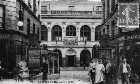 Le théâtre de Belleville, lieu historique de la culture populaire, rouvre ses portes