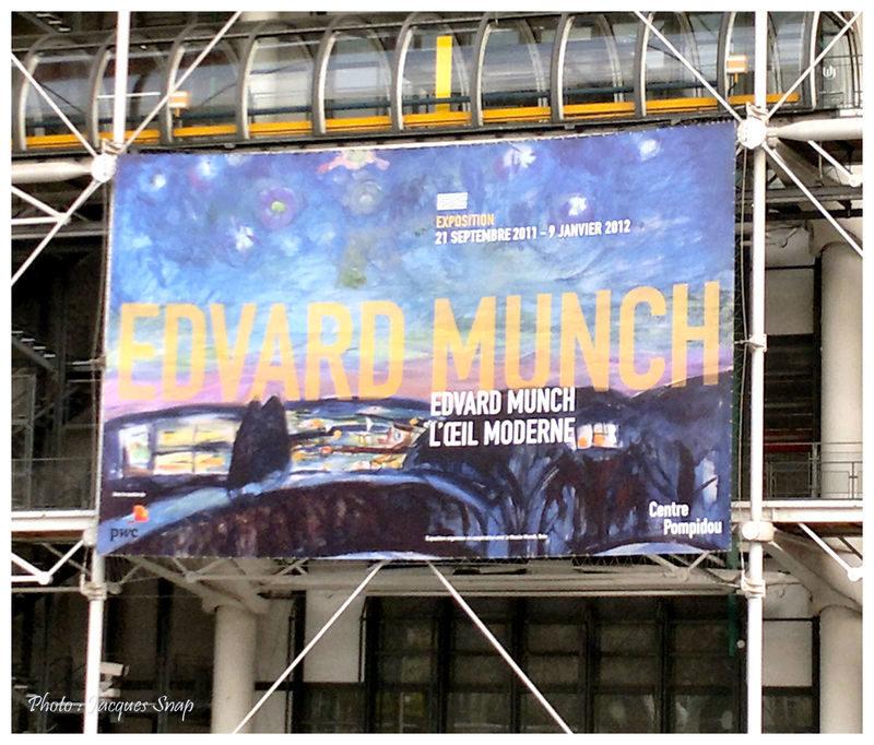 Lumières sur Munch au Centre Pompidou