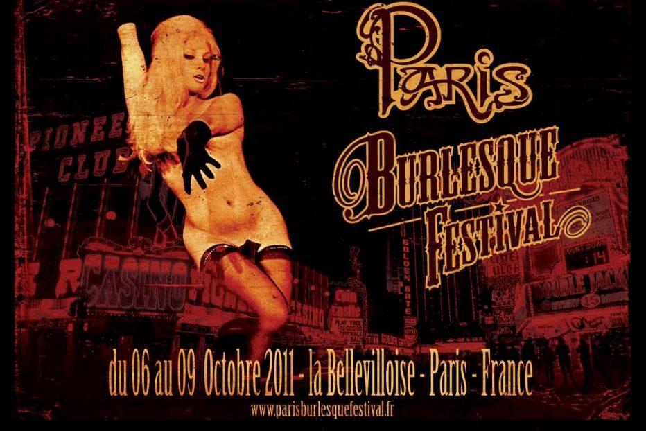 Le Paris Burlesque Festival du 6 au 9 octobre 2011