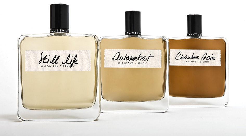 La photographie et le parfum fusionnent pour Olfactive studio.