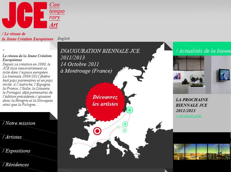 Du 15 octobre au 13 novembre, la Jeune Création Européenne se donne rendez-vous à la fabrique de Montrouge