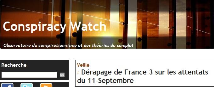 11/09 et conspirationnisme, interview de  Rudy Reichstadt fondateur de Conspiracy Watch.info