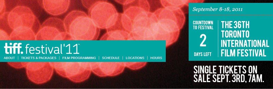 Le 36ème festival international de cinéma de Toronto commencera le 8 septembre