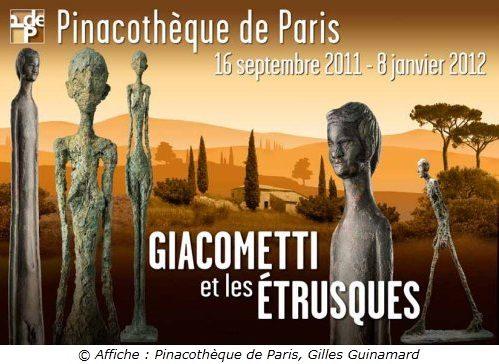 Giacometti et les Etrusques à la Pinacothèque