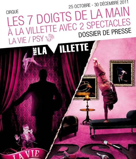 Le cirque débarque à la Villette !