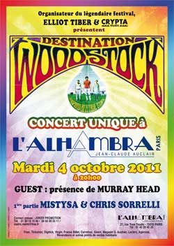 Destination Woodstock à l'Alhambra