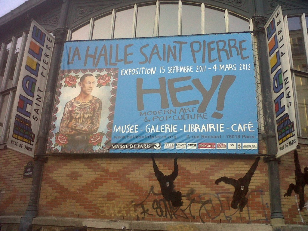 <em></noscript>Hey! modern art & pop culture</em> à la Halle Saint-Pierre : quand l'art brut fait place à la culture urbaine