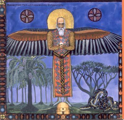 Le livre rouge de Jung au musée Guimet