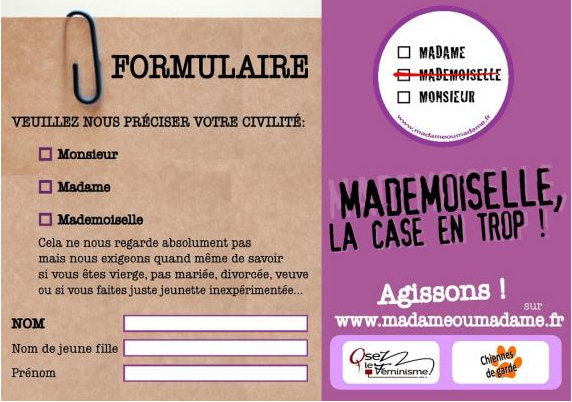 logo non mademoiselle